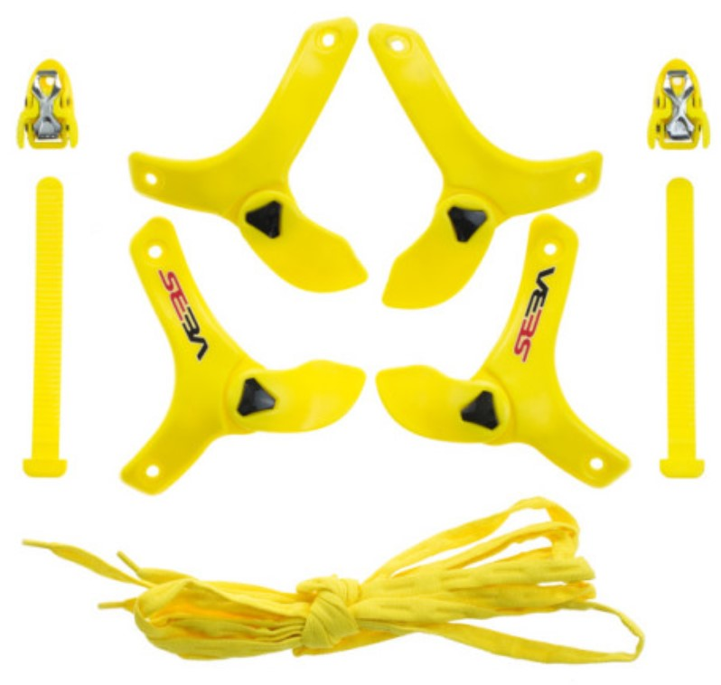Custom Kit Seba Trix yellow