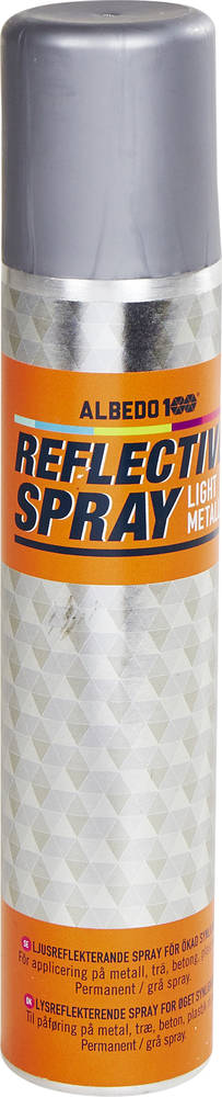 metallic reflective spray
