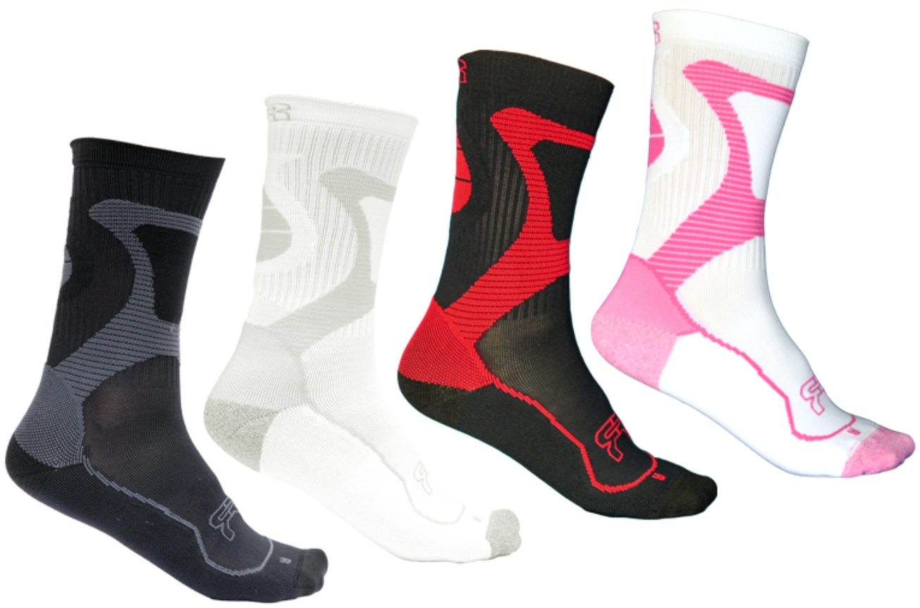 FR Nano socks in the different colours in which they exist