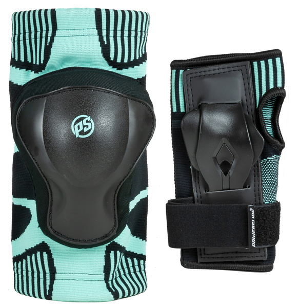 Knee and wrist protection for inline skating for Women Onesie Dual Pack