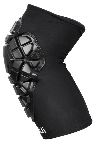 Ennui Shock Sleeve Knee Gasket in black sideview