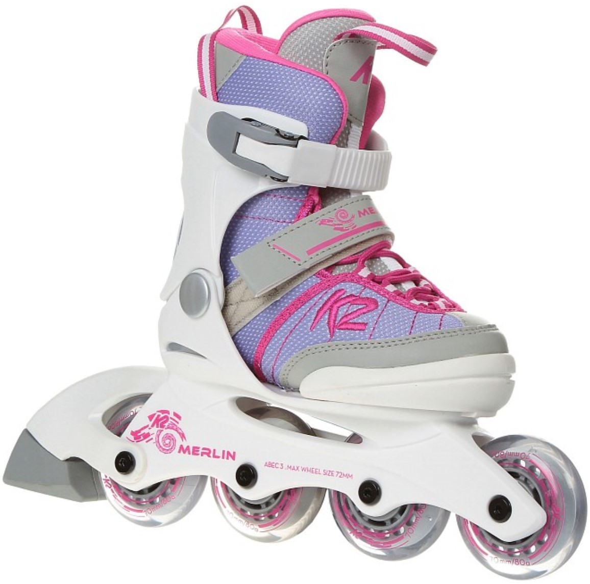 K2 Youth Skate Merlin Girl with pink touch