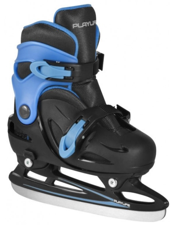 Playlife Cyclone Blue Boys Adjustable Ice Skate