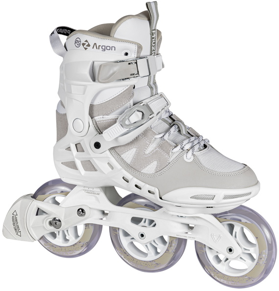 Powerslide Phuzion Argon Cloud fitness inline skate with three 110 mm wheels