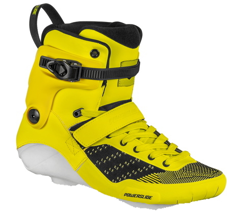 yellow Swell Firefly boot only inline skate
