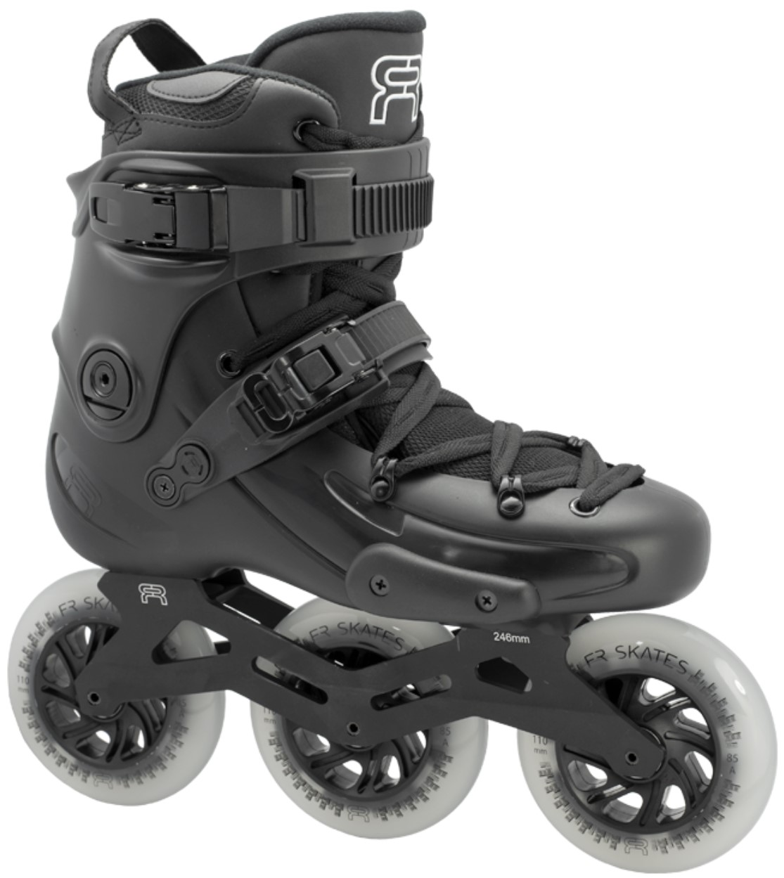 FR2 inline skate with 3 downtown 110 mm wheels