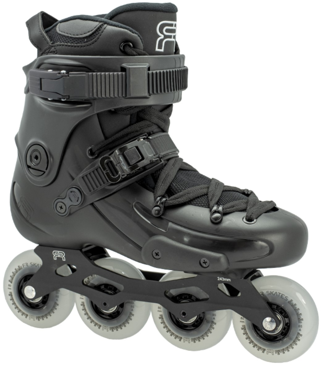 FR2 inline skate with 80 mm wheels