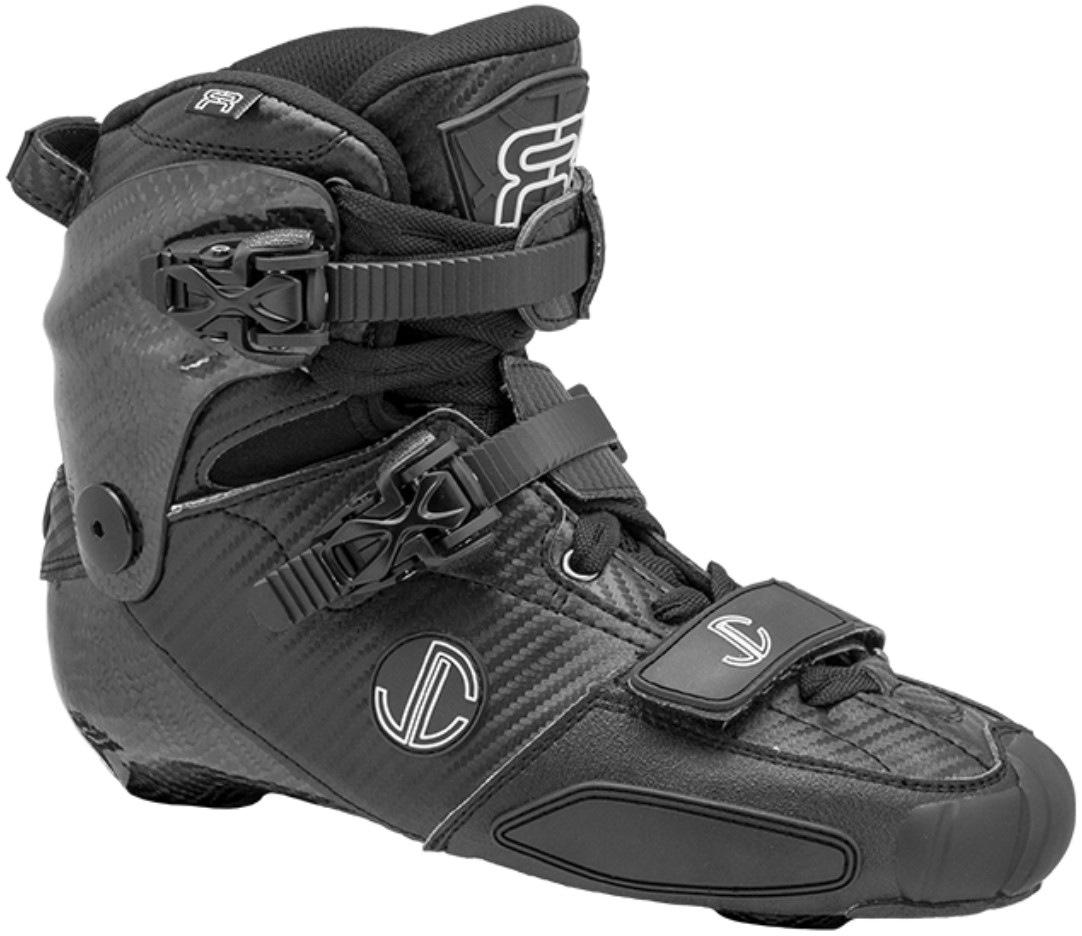 FR SL boot only inline skate boot for freestyle slalom