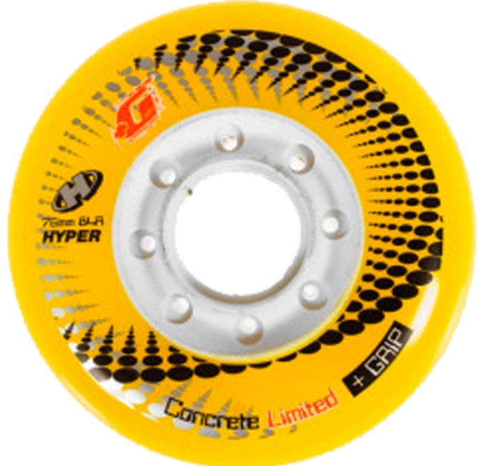 Hyper Concrete Limited yellow wheels