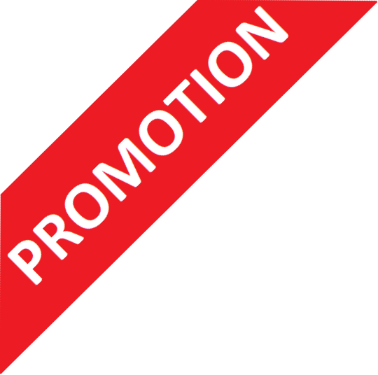 Overlay image that indicates that the product is in promotion